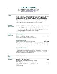 Free Sample Objectives for Resumes graduate resume objective