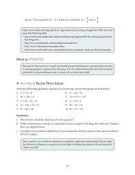 solve each equation with the quadratic formula math answer the equation solving quadratic equations mathematica