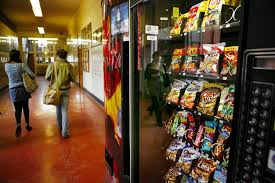 Junk Food Vending Machines Extraordinary Banning Vendingmachine Candy For Oregon Adults Goes Too Far Agenda