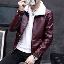 big size 2018 winter warm men plus cotton jacket jacket fashion burdy men s cotton lapels keep warm pu leather jackets maleeasy2order