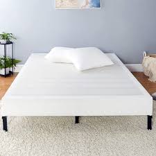 Amazon Basics Mattress Foundation Smart Box Spring For Cal King Size Bed Tool Free Easy Assembly 9 Inch Cal King Furniture Decor