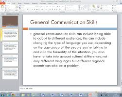 btec it help unit communication and employability p this is the first page of the presentation that i have done the first page probably should have been more like an index indicating what was going to be
