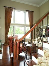 Tall Window Dressing for Great Room