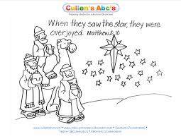 Epiphany Bible Memory Verse Coloring Page