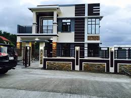 Modern 2 Storey W Roofdeck  House Designer And BuilderTwo Storey Modern House Designs