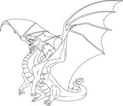Delivered Scary Dragon Coloring Pages Free Printable Download 2