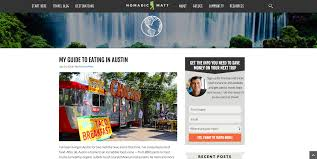 how to start a blog easy steps to create a blog images example wordpress blog 1
