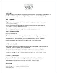 Examples Of Combination Resume Resume Example Collection