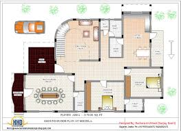 Small Picture Luxury Indian home design with house plan 4200 SqFt Kerala