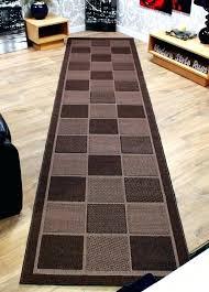 15 Ft Carpet Runners For Hall Foot Runner Rug Sizes Kitchen Black And White