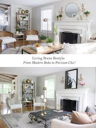 12 MustHave Elements Of Parisian Style Home DecorParisian Style Living Room