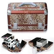 fashion design high quality professional aluminum beauty box glitter make up box