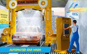 Car Wash Service Station 3D pour ...