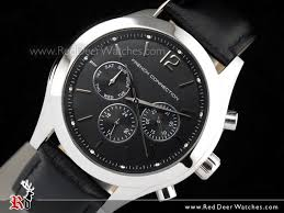 french connection men french connection watches brands french connection chronograph black leather strap unisex watch fc1144b