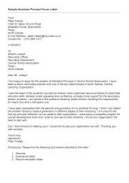 Principal Cover Letter Resume Web