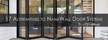 17 alternatives to nanawall door systems