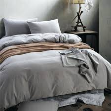 solid color comforters king size high quality washable cotton fabric solid color bedding set twin full