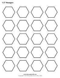 English Paper Piecing Hexagons Pattern...free download | All ... & Printable hexagon templates for your creative craft or project. Can be used  for decorations, stencils, labels and printable stickers. Adamdwight.com