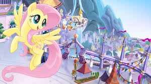 my little pony the wallpaper fluttershy