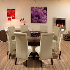 large round dark elm dining table black glass lazy susan led large round dining room table seats 8 layout design minimalist