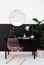 minimal luxe workspace home decor