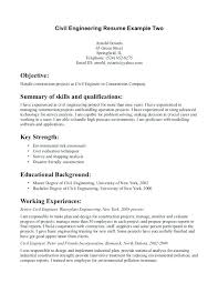 Construction Objective For Resume Example Of Resume Objective Wwwfungramco 39