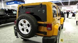 jeep 2015 wrangler unlimited interior. 2015 jeep wrangler unlimited sahara exterior u0026 interior walkaround youtube