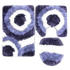 purple bathroom rug sets best of serenity 3 piece gy set rugs target bath