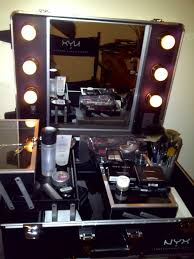 Beauty Station With Lights Nyx Haul Contd Beauty Station Work Station Purple