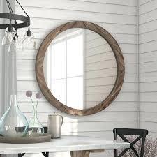 round mirror wood frame wood wall mirror wall mirrors round mirror with unfinished wooden frame