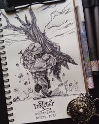 day 12 of inktober 2017 l tiny l dota 2 dota2