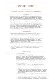 Technical Manager Resume Samples Visualcv Resume Samples Database