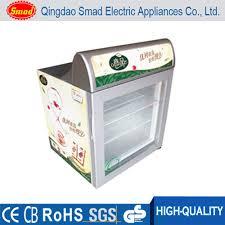 countertop freezer mini ice cream display freezer upright glass door freezer