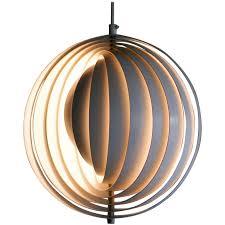 Panton lighting Moon Original Moon Lamp Designed By Verner Panton In 1960 For Sale Verner Panton Original Moon Lamp Designed By Verner Panton In 1960 At 1stdibs