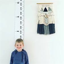 Fullin Kids Height Growth Chart Hanging Rulers Wood Frame