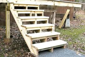 building deck stairs.  Building Building Deck Stairs Without Stringers  Build Cut Home Side Intended Building Deck Stairs