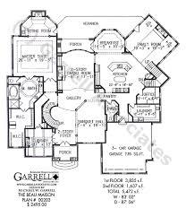 beau maison house plan house plans by garrell associates, inc Two Storey House Plan Description beau maison house plan 00203, 1st floor plan Simple Small House Floor Plans