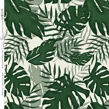 designer upholstery curtain palm fabric palm leaf tropical