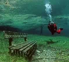 Alpine Park Rest Your Weary Sea Legs Divers Explore Pristine Alpine Park That