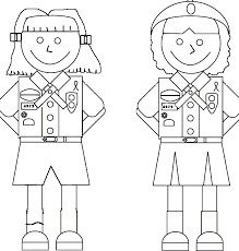 Small Picture girl scout coloring pages for brownies free Printable Coloring
