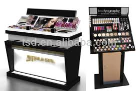 TSD-A553 tester products cosmetic acrylic display, acrylic makeup brush  holder, retail store