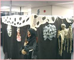 decorating office for halloween. Office Cubicle Halloween Decorating Ideas Contest Rules Desk Type For