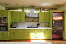 dark green painted kitchen cabinets. Amazing And Modern Green Kitchen Cabinet Storage : Wooden Light Cabinets Dark Metal Folding Oven Painted