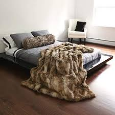 Faux Fur Throw Blanket Cheap