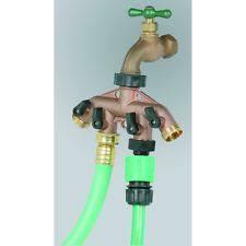 garden hose faucet. 4-in-1 Solid Brass Faucet Expander Garden Hose Splitter