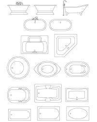 floor plan symbols bathroom. 684x853 Bathroom Templates Foot Tubs, Spa Bath Tubs CAD Symbols, And Floor Plan Symbols H