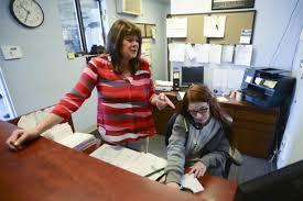 Working in Clark County: Darlene Scherer-O'Mara, dispatcher/office ...