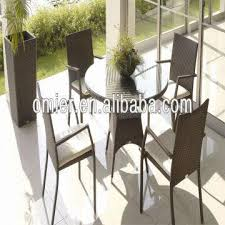 china luxury round garden furniture rattan outdoor table and chairs