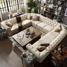 traditional sectional sofas. Simple Sofas Knightsbridge Tufted Scroll Arm Chesterfield 11seat Ushaped Sectional By  INSPIRE Q Artisan With Traditional Sofas L