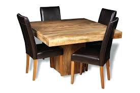 small white kitchen table and 4 chairs round oak light cube dining brown leather gorgeous mango